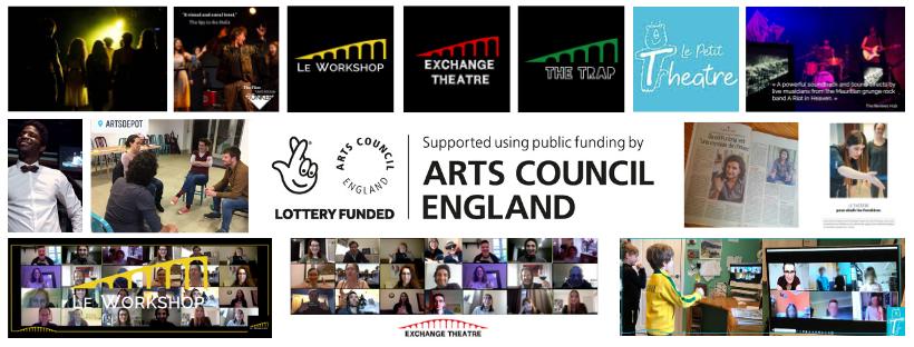 banner exchange theatre art council england