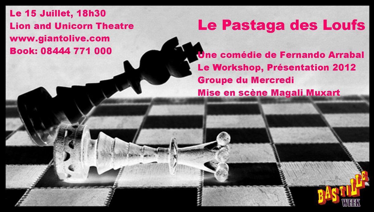 bannière spectacle théâtre le pastaga des loufs le workshop
