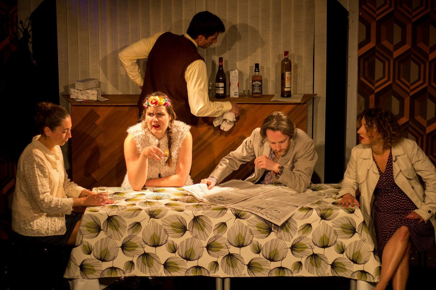 extrait spectacle théâtre une histoire de famille le workshop
