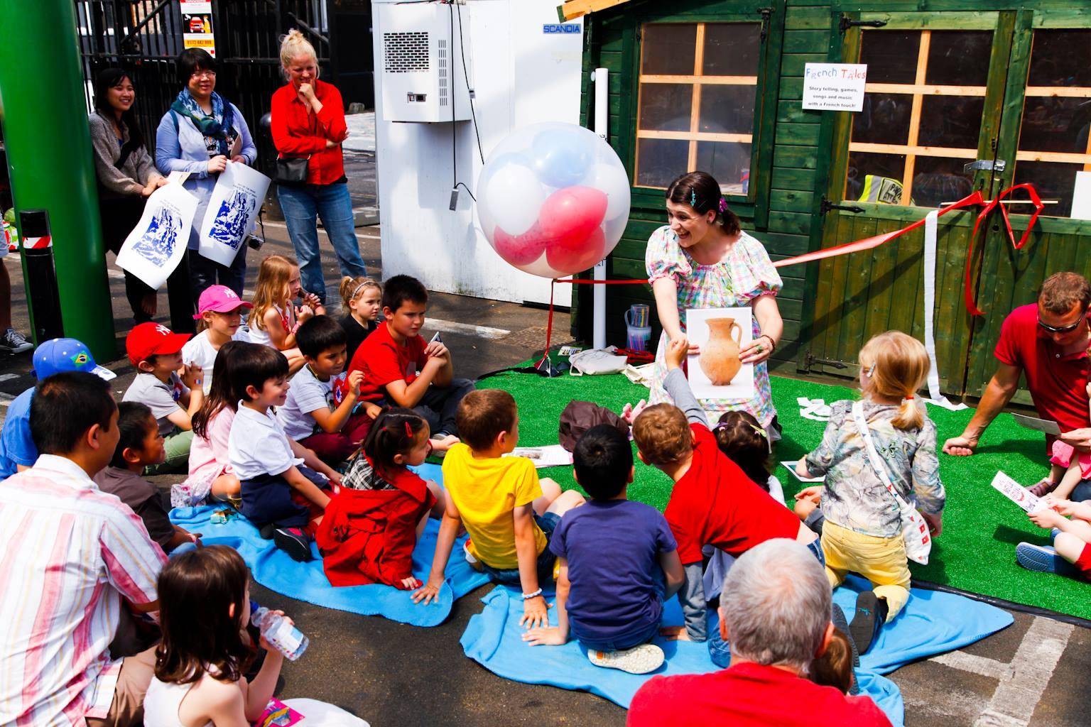 story telling fanny dulin children