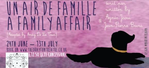 poster plays a family affair and un air de famille jaoui bacri andy de la tour